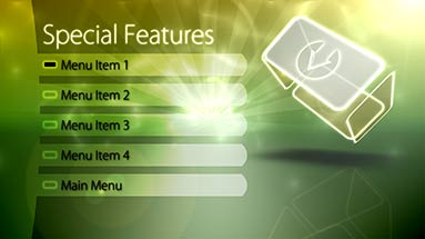 adobe encore menu templates download free - dvd blu ray motion menu template adobe encore retro