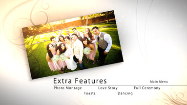 Dvd blu ray motion menu template adobe encore weddings for Dvd menu templates after effects