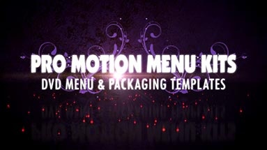 Pro Motion Menu Kit Promo